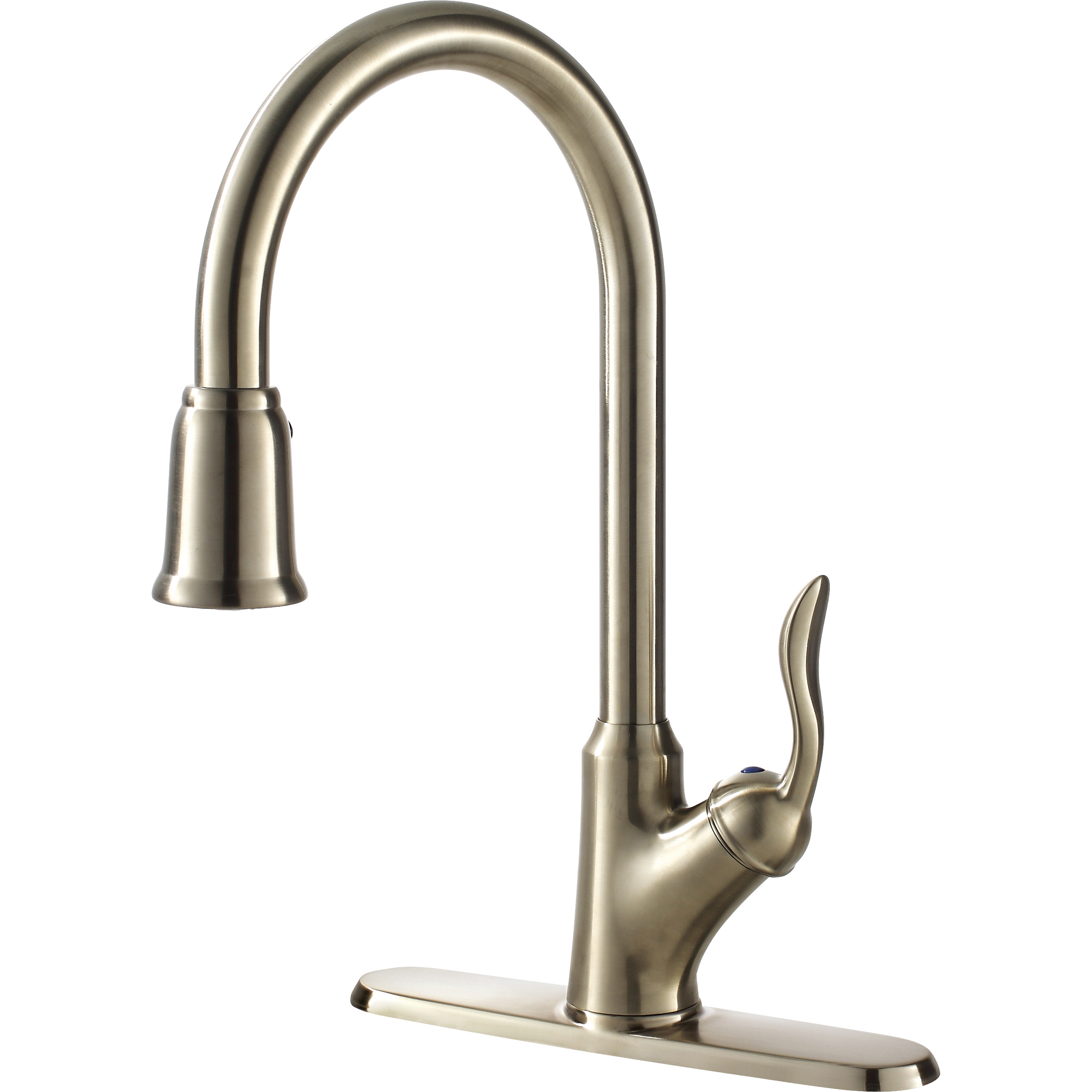 Transitional Collection Single Handle Kitchen Faucet