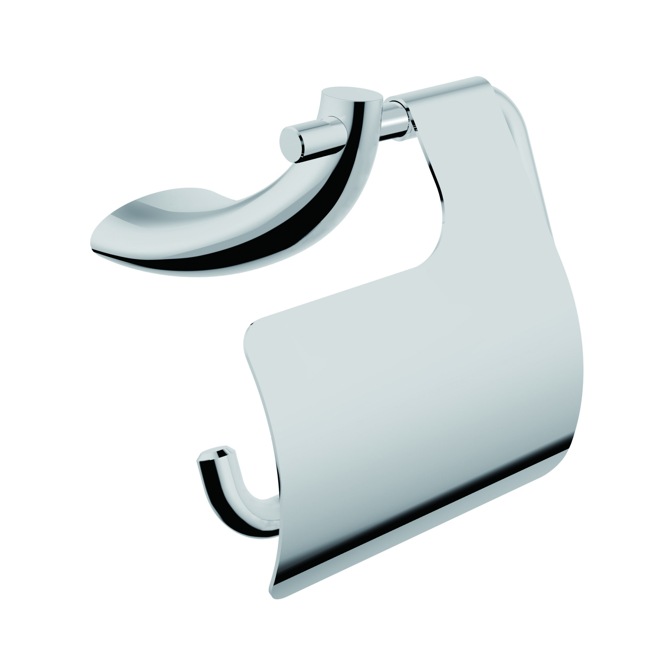Twist Collection Toilet Paper Holder Bathroom Accessory