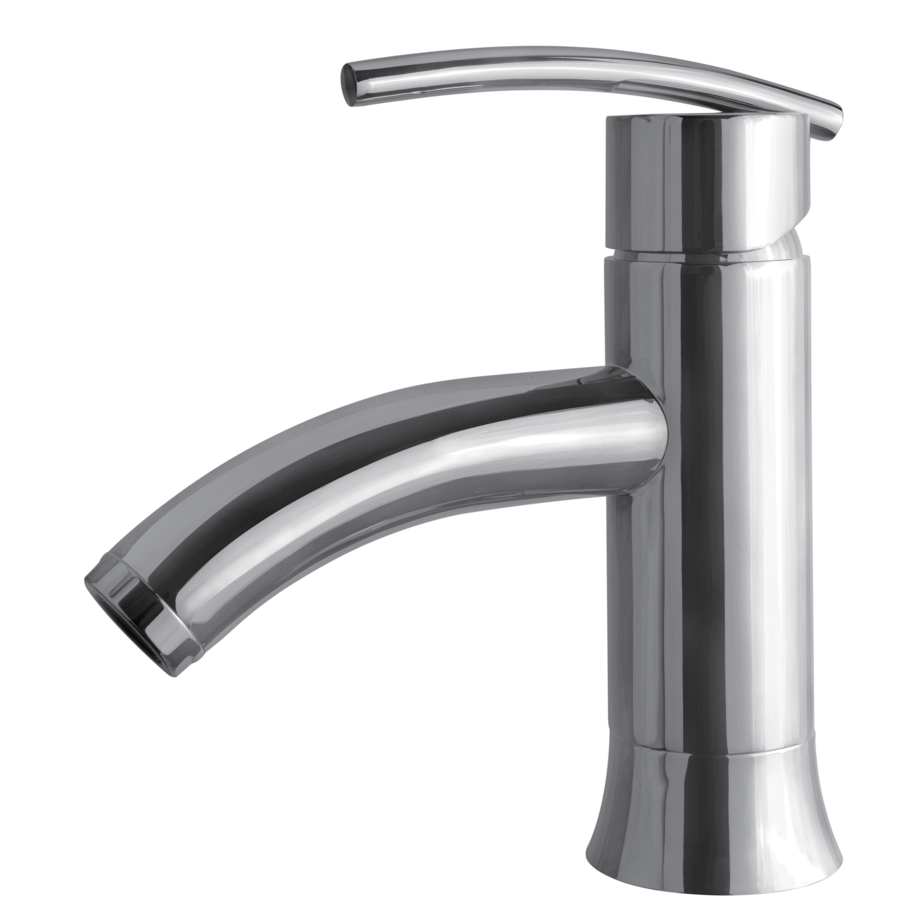 "Single Lever Bathroom Faucets: ""Sweep Collection"" Single-Handle Lavatory Faucet"