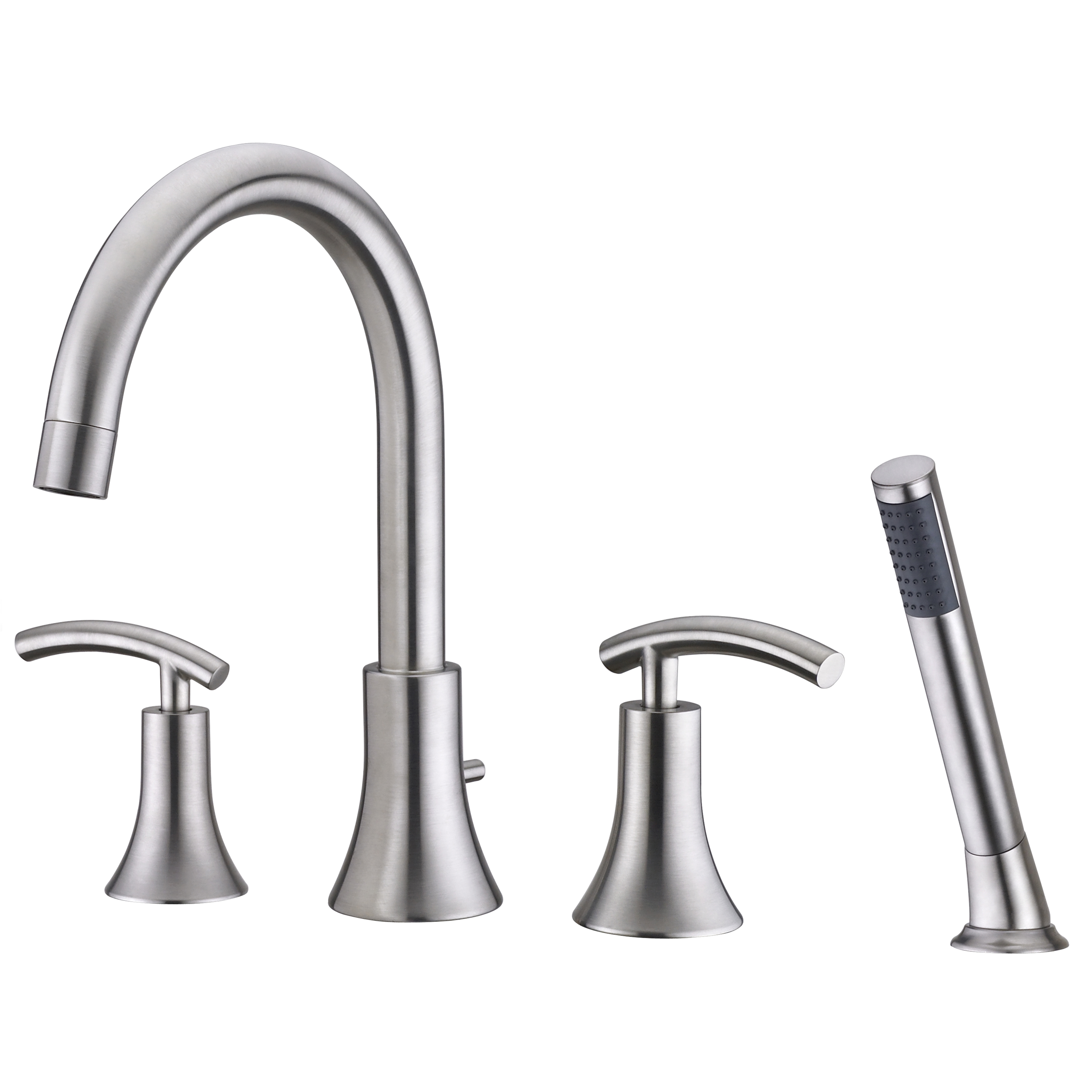 Sweep Collection Roman Tub Faucet With Hand Shower