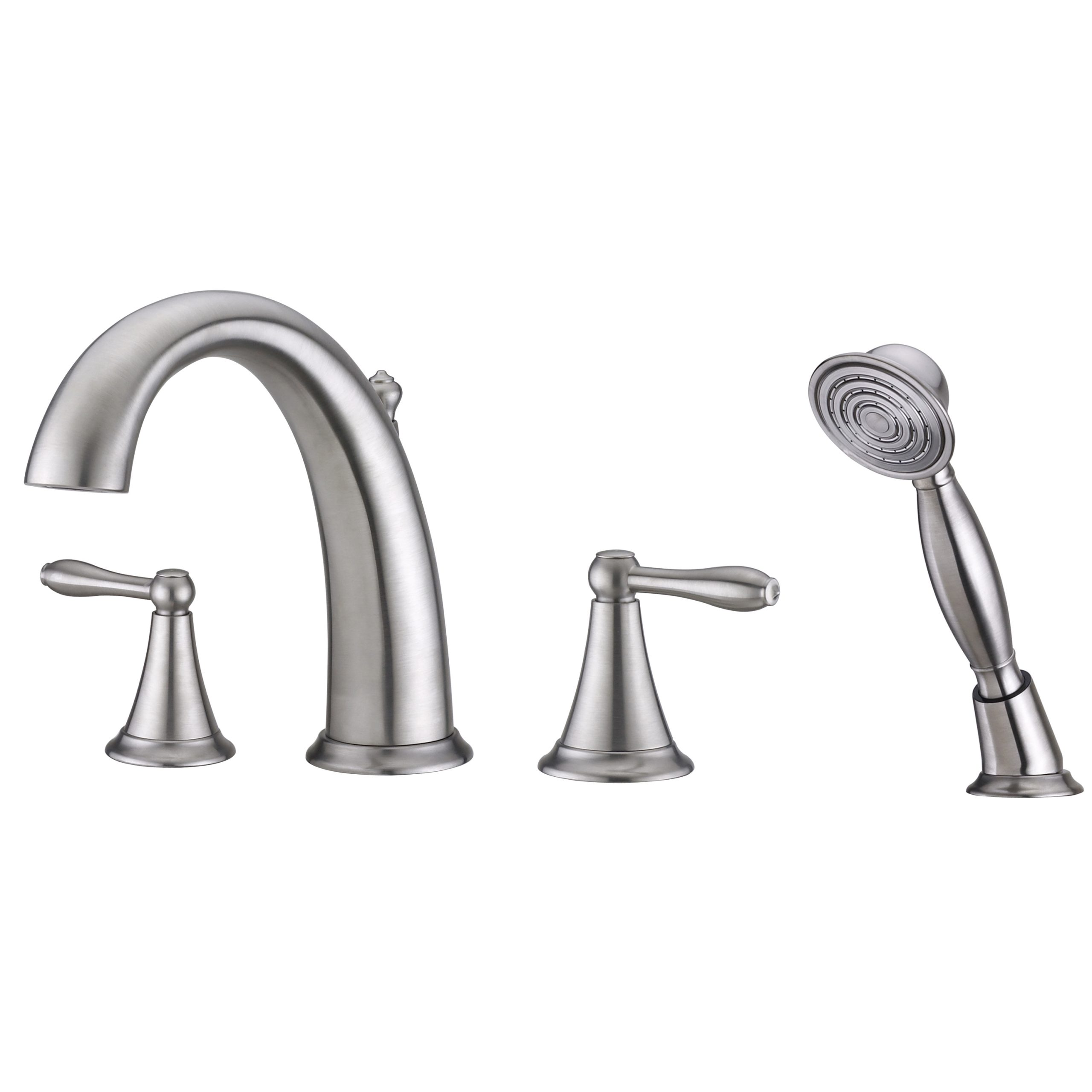 Contour Collection Roman Tub Faucet With Hand Shower