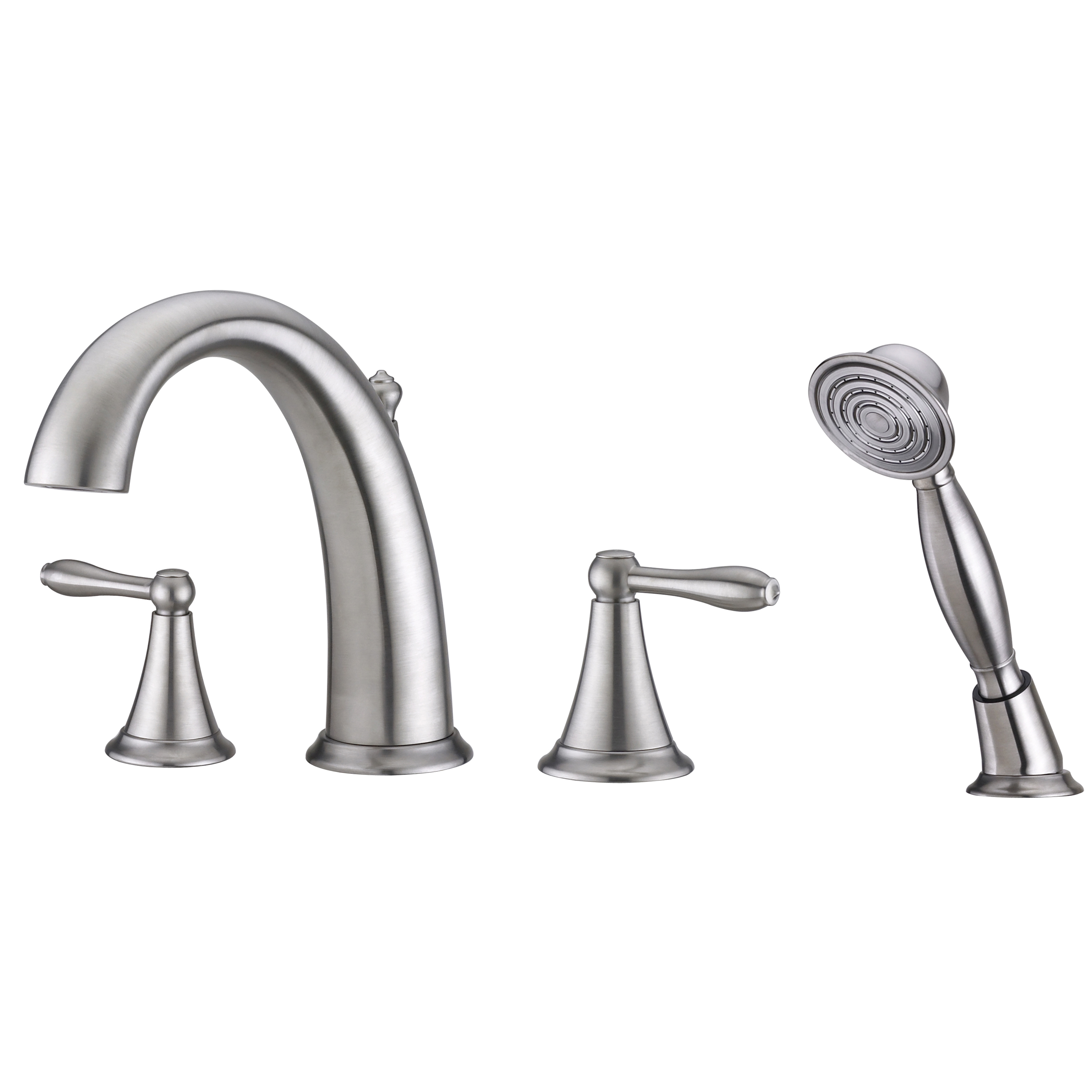 Contour Collection Roman Tub Faucet With Hand Shower Ultra Faucets