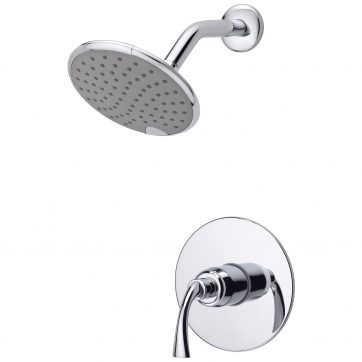 Chrome Finish Ultra Faucets UF79600 Z Tub and Shower Set