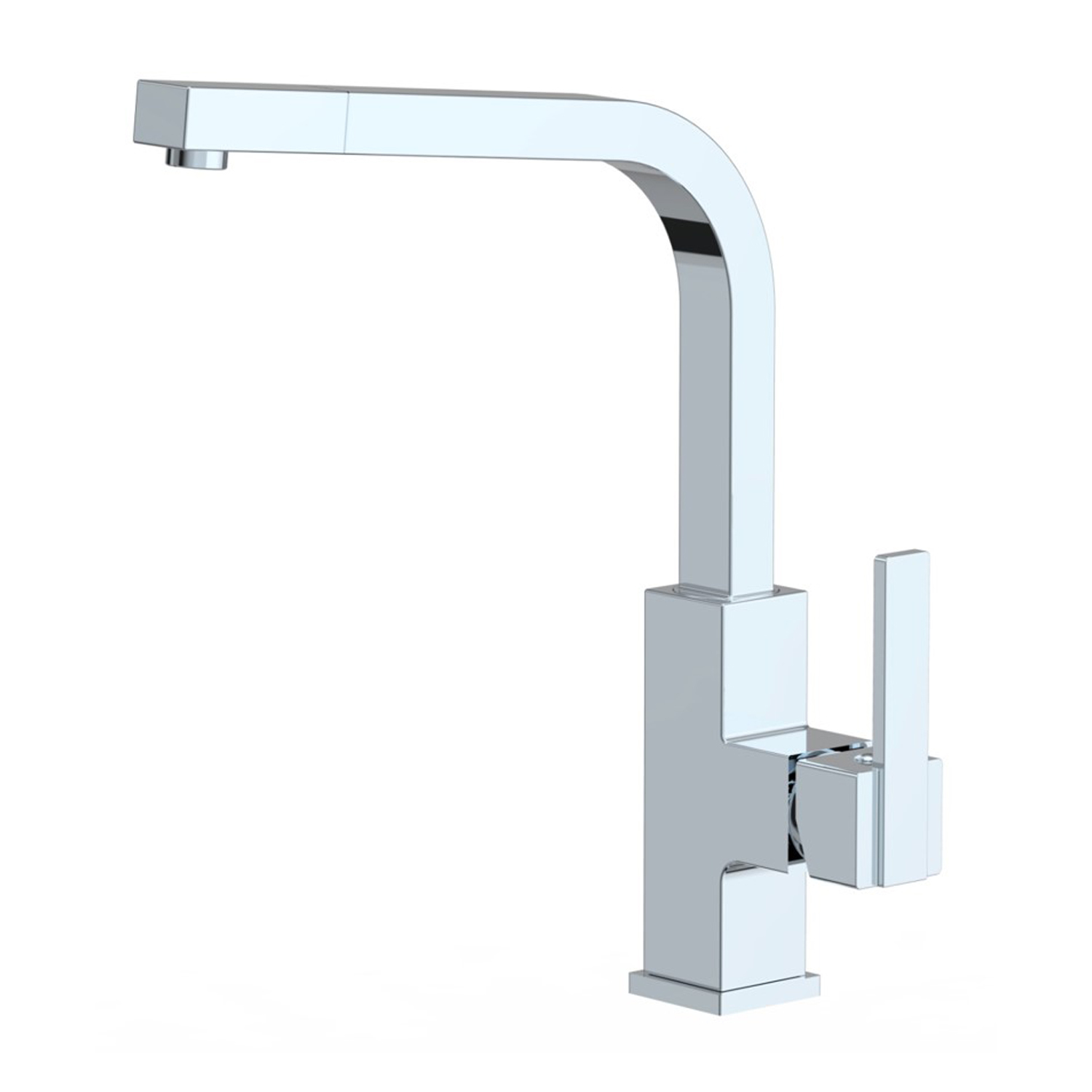 Icon Collection Single Handle Kitchen Faucet With Pull