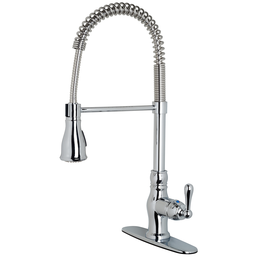 "Prime Collection"" Single-Handle Kitchen Faucet With Spring Spout ..."