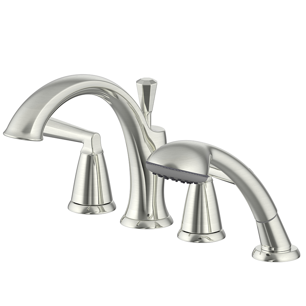 Z Collection Roman Tub Faucet With Hand Shower Ultra