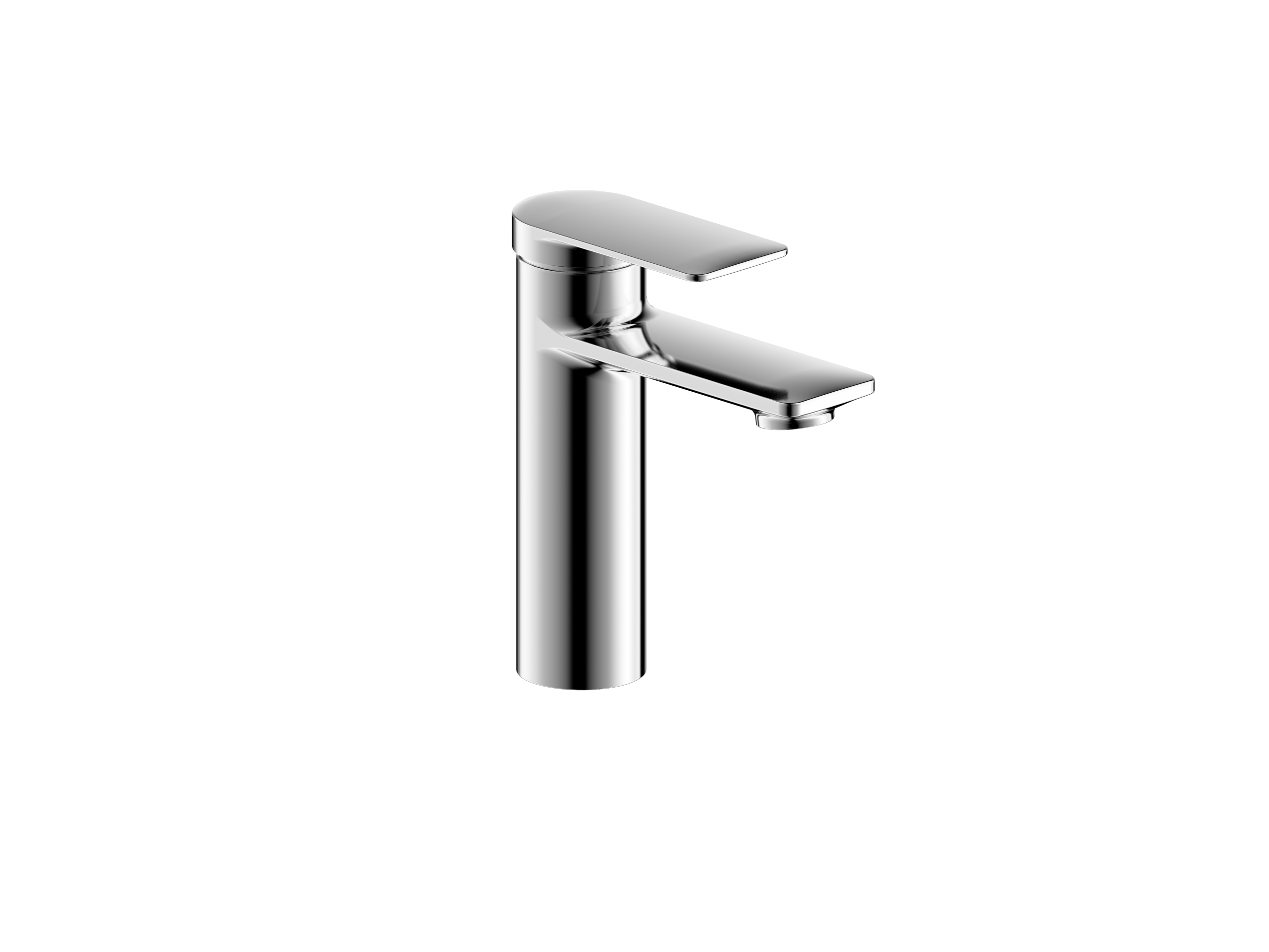 Wedge Collection Single Handle Vessel Lavatory Faucet