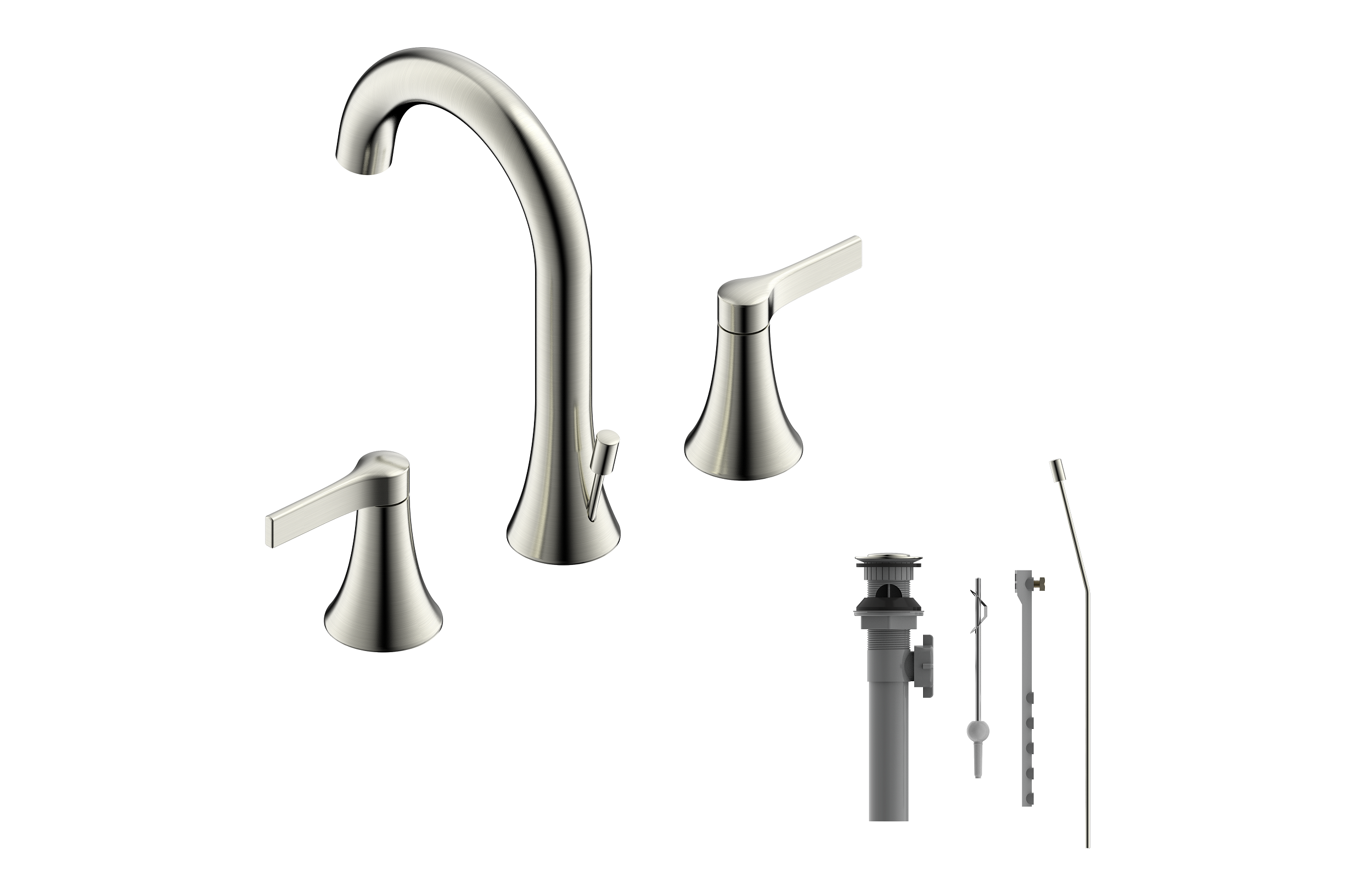 Nita Collection Widespread Lavatory Faucet Ultra Faucets