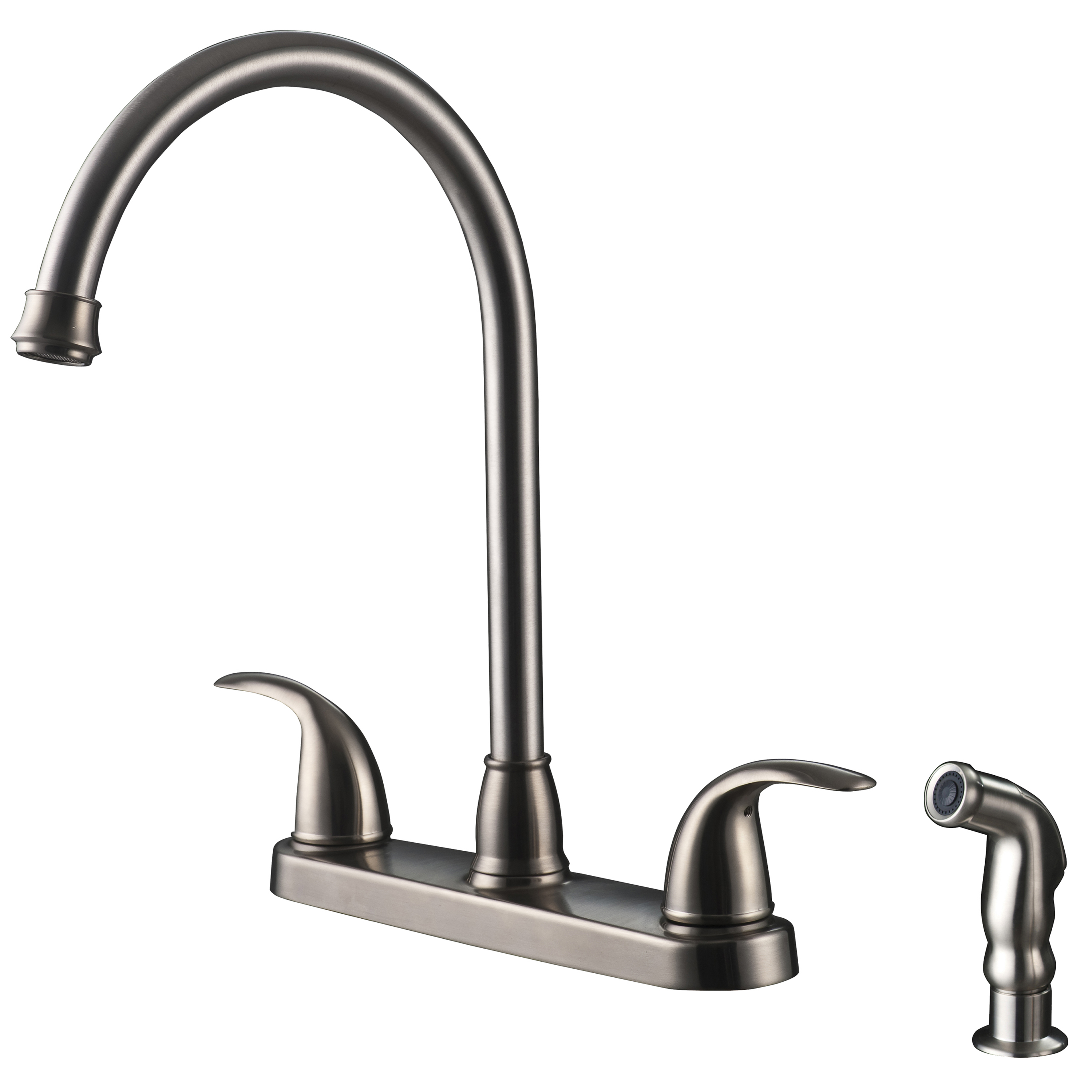 kitchen faucet with spray vantage collection single handle kitchen faucet with side spray ultra faucets 6934