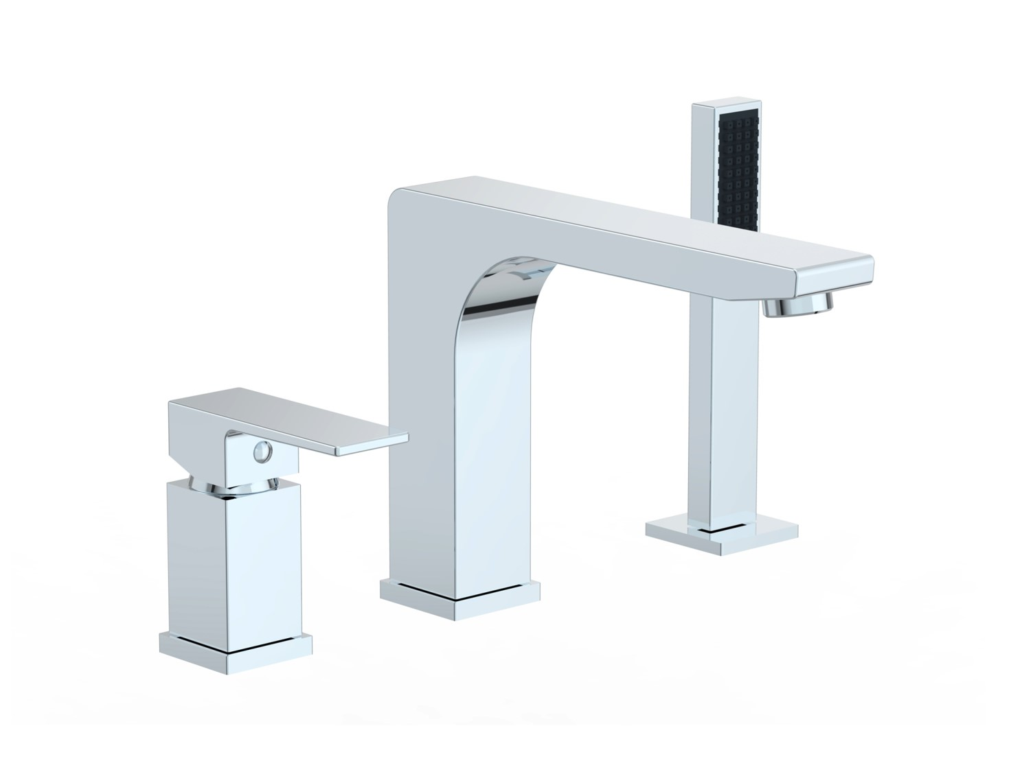 Icon Collection Roman Tub Faucet With Hand Shower